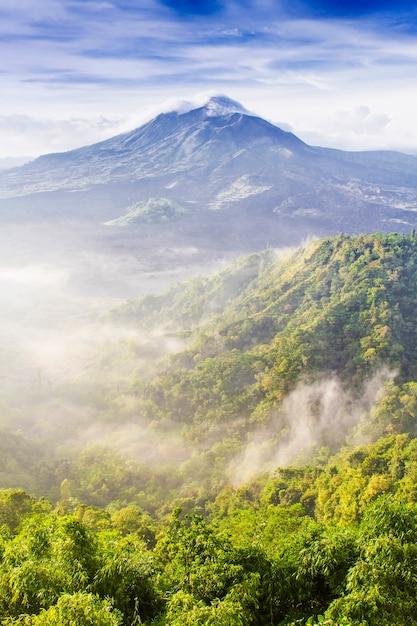 Volcan batur Foto Premium