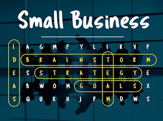 Wordsearch game word corporation business Foto gratis