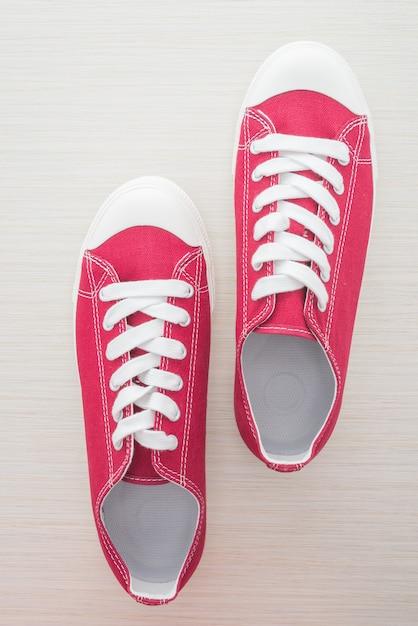 Zapato rojo hombre Foto gratis