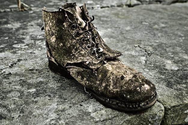 Zapatos Gratis Fotos Fondo Antiguo Rotos Descargar qF46w