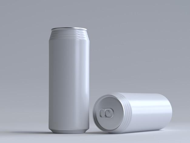 3d ha reso la soda può senza un'etichetta Foto Premium