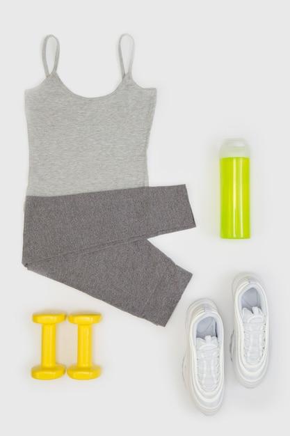 Abbigliamento sportivo per donna Foto Premium