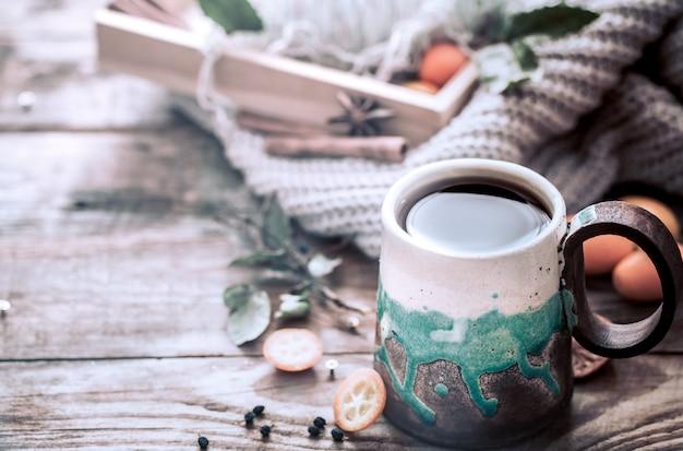 Accogliente tazza di tè Foto Gratuite