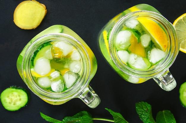 come perdere peso con cetriolo allo zenzero e limone
