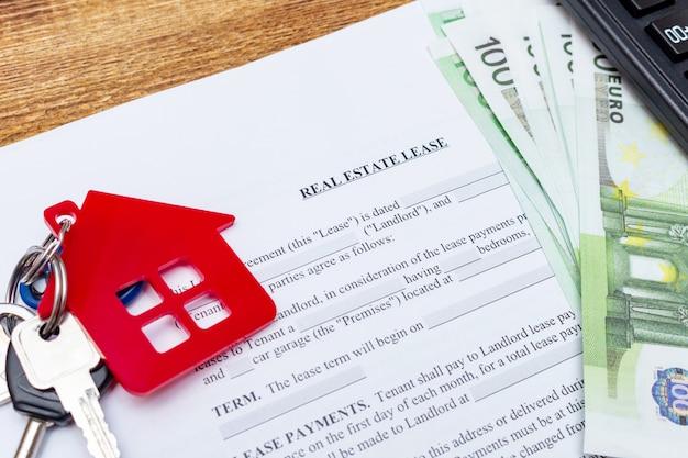 Acquisto immobiliare contratto di compravendita Foto Premium
