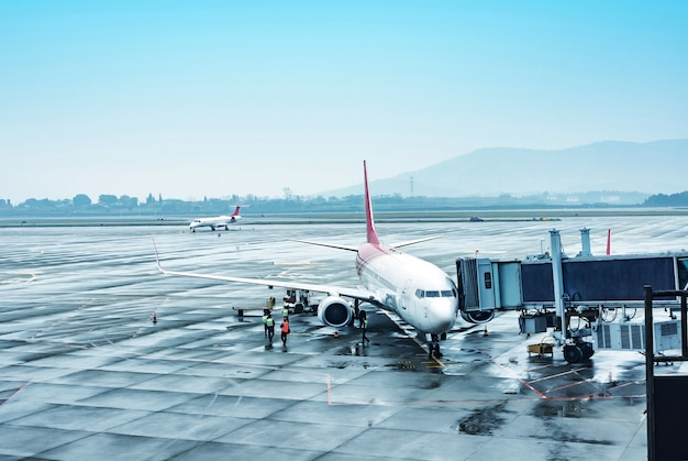 Aeroporto di shanghai cina Foto Premium