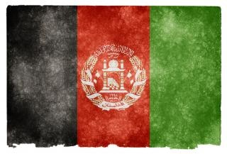Afghanistan grunge flag Foto Gratuite