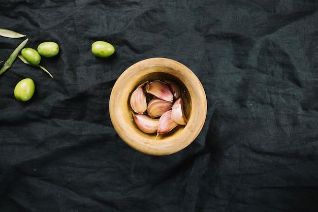 Aglio e olive Foto Gratuite