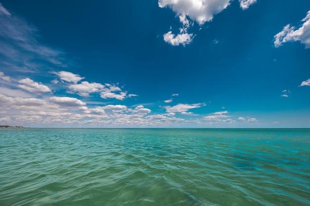 Alba nel mare Foto Premium