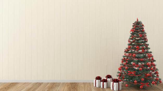 Alberi Di Natale In Legno Da Appendere : Albero di natale interno di legno del modello d della parete di