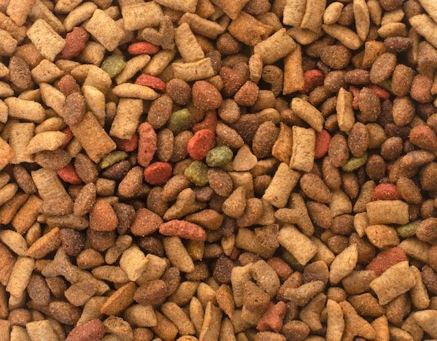 Alimento secco per animali domestici Foto Premium