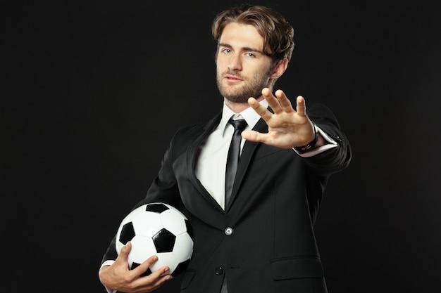 Allenatore, affari, sport Foto Premium