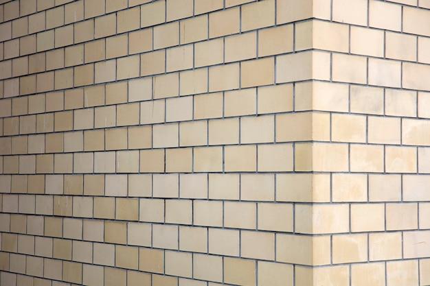 Angolo del muro di mattoni Foto Premium