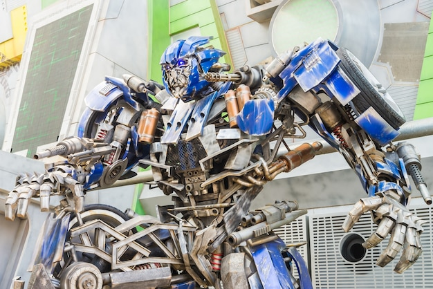 Animazione trasformatore 3d fumetto scifi Foto Gratuite
