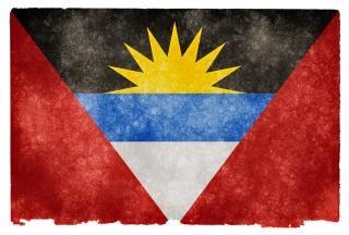 Antigua e barbuda grunge bandiera d'epoca Foto Gratuite