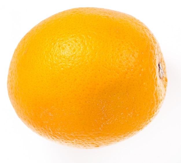 Arancia deliziosa su bianco Foto Gratuite