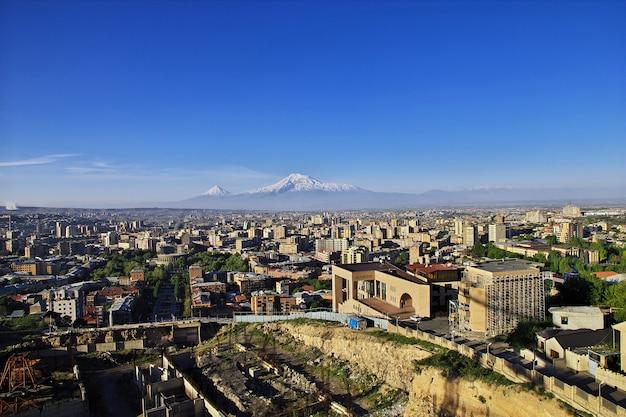 Ararat è una montagna sacra, l'armenia Foto Premium