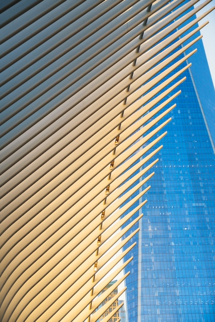 Architettura moderna di new york city Foto Gratuite