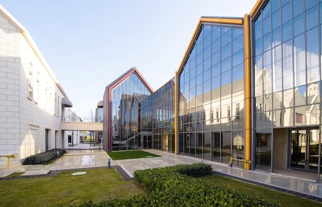 Architettura moderna nel cultural innovation park Foto Premium
