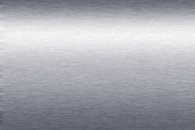Argento metallizzato con texture di sfondo Foto Gratuite