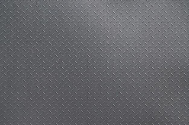 Argento spazzolato di alluminio del fondo di struttura del metallo. Foto Premium