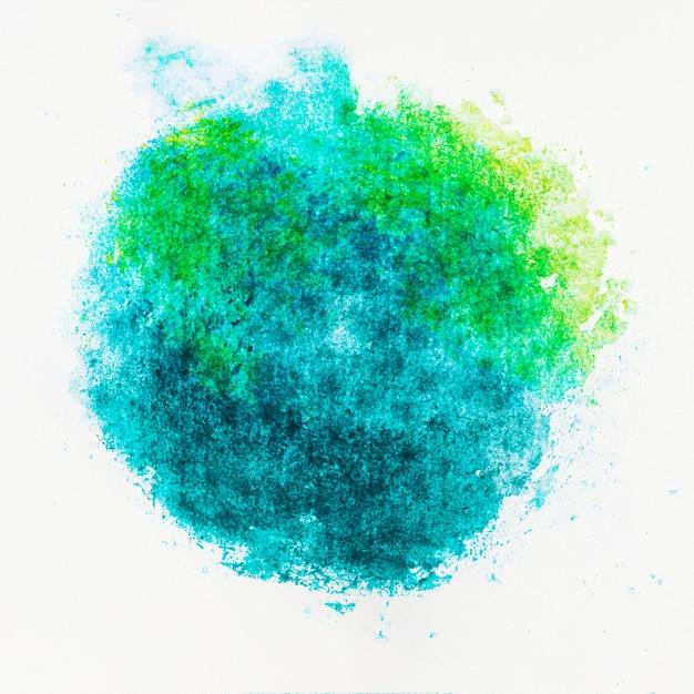 Arte astratta con acquerello di inchiostro luminoso colorato Foto Gratuite