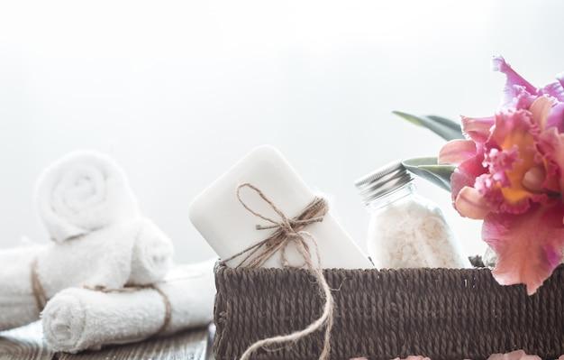 Articoli spa con orchidea Foto Gratuite