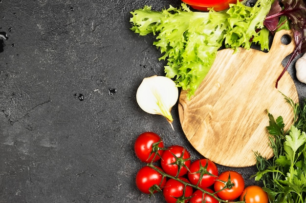 Assortimento di verdure fresche Foto Premium