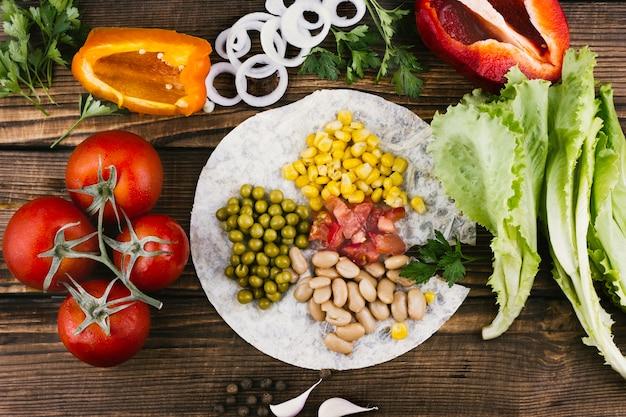 Assortimento di verdure tradizionali messicane Foto Gratuite