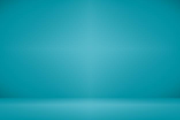 Astratto liscio blu scuro con vignetta nera studio bene utilizzare come sfondo, rapporto di affari, digitale, modello di sito web. Foto Premium