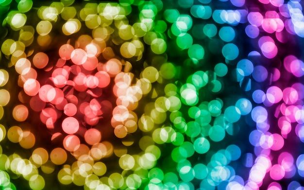 Astratto sfondo colorato bokeh Foto Gratuite