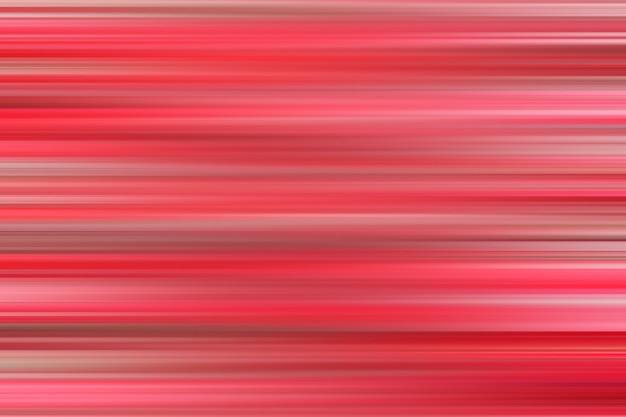 Astratto sfondo sfocato con strisce orizzontali rosse Foto Premium