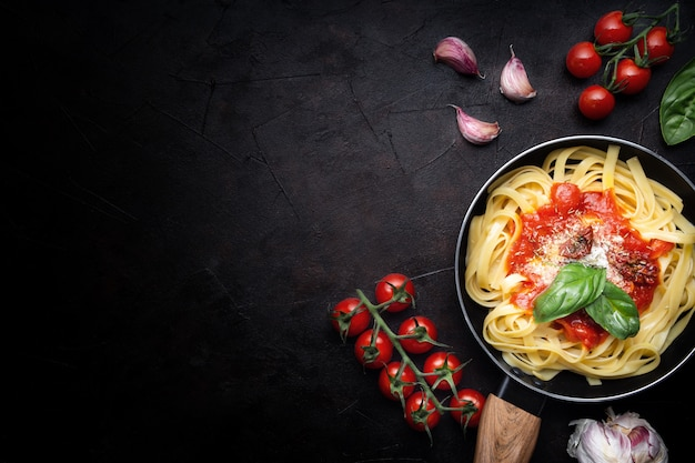 Autentica pasta italiana Foto Gratuite