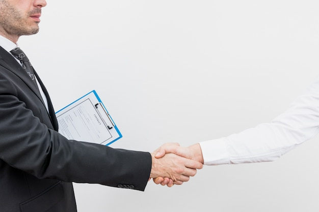 Avvocato con cliente Foto Gratuite