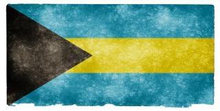 Bahamas grunge flag Foto Gratuite