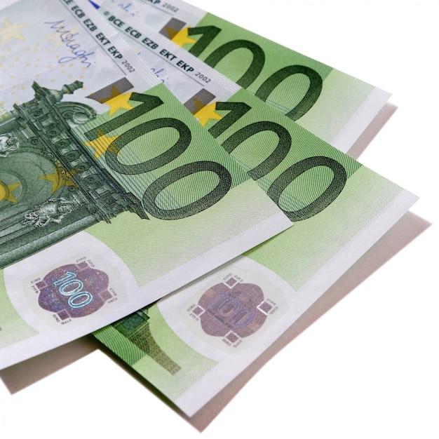 Banconote da 100 euro Foto Premium