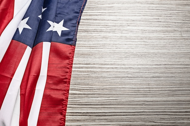 Bandiera americana Foto Premium