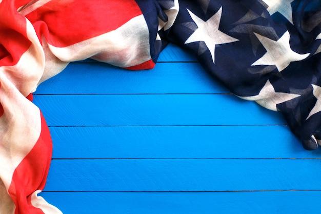 Bandiera degli stati uniti d'america Foto Premium