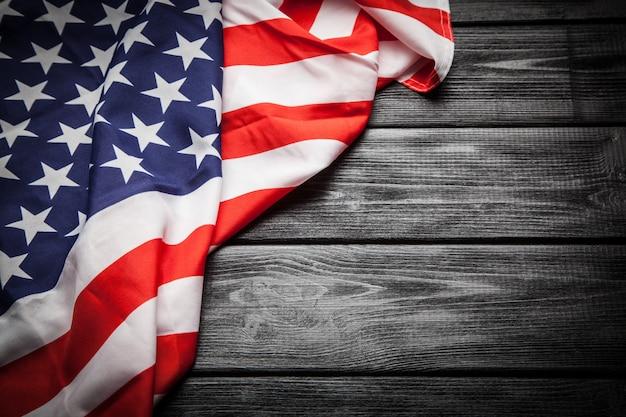 Bandiera degli stati uniti Foto Premium
