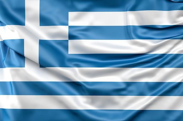 Bandiera della grecia Foto Gratuite