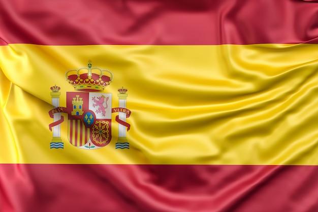 Bandiera della spagna Foto Gratuite