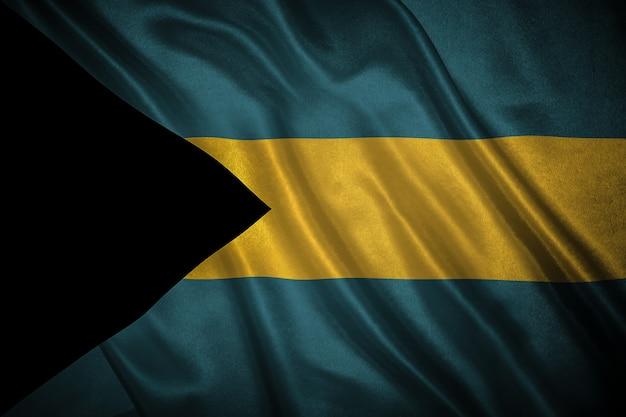 Bandiera delle bahamas Foto Premium