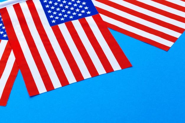 Bandiere americane Foto Premium