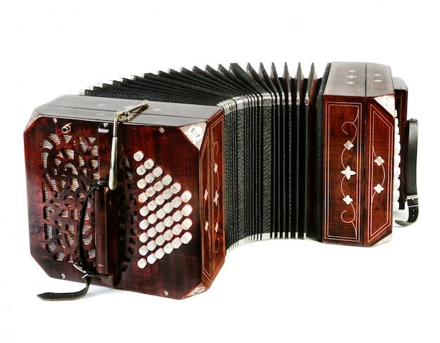 Bandoneon, strumento di tango Foto Premium