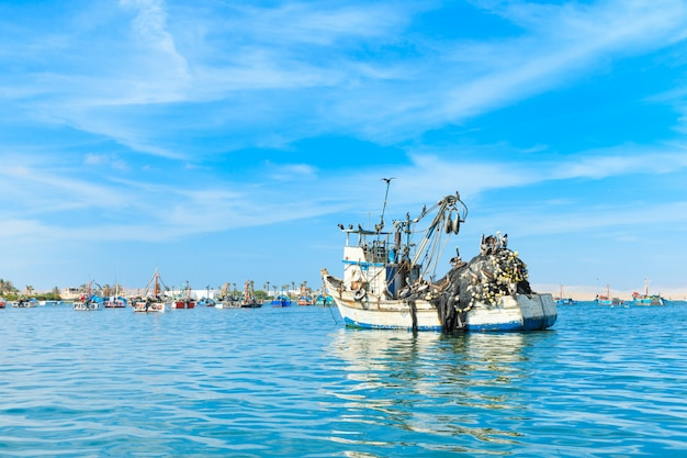 Barca al mare Foto Premium
