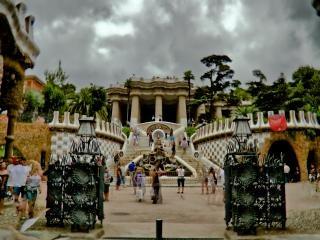 Barcellona, plaza Foto Gratuite