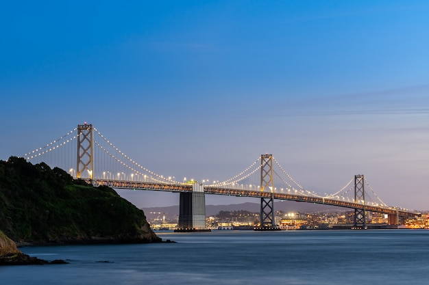 Bay bridge san francisco Foto Premium