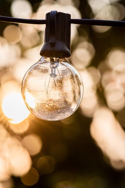 Bella lampada di lusso retrò Foto Premium