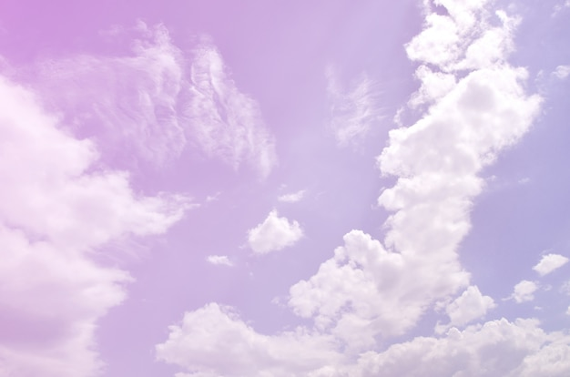 Bella priorità bassa del cielo blu Foto Premium