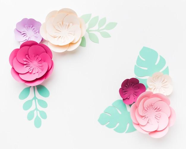 Bellissima decorazione in carta floreale Foto Gratuite